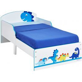 A.W. Dětská postel Dinosaurus 140x70 cm