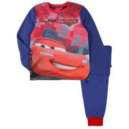 E plus M Chlapecké fleecové pyžamo Cars - modré