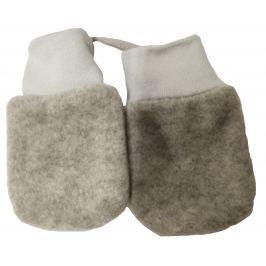 Broel Dívčí rukavice Polarek - šedé