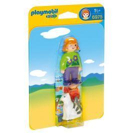 Playmobil Holčička s kočičkou (1.2.3)