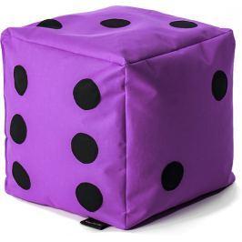 BulliBag Sedací hrací kostka - fialová