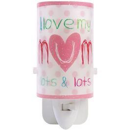 Dalber Dětské noční LED světlo, I love my Mum