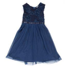 Topo Dívčí tylové šaty - modré Dívčí šaty