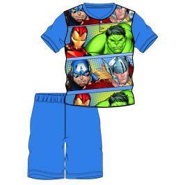 Disney by Arnetta Chlapecké pyžamo Avengers - modro-šedé