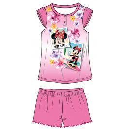Disney by Arnetta Dívčí pyžamo Minnie - růžové