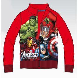 Disney by Arnetta Chlapecká mikina Avengers - červená