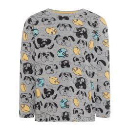 Name it Chlapecké tričko s potiskem - šedé