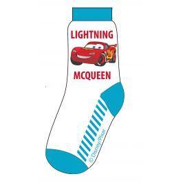E plus M Chlapecké ponožky Cars - bílo-modré