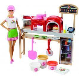 MATTEL Barbie vaření a pečení pizza herní set