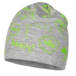 Broel Chlapecká čepice Tommy - šedo-zelená