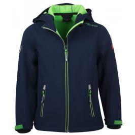 Trollkids Chlapecká softshellová bunda Trollfjord - tmavě modrá