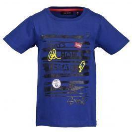 Blue Seven Chlapecké tričko s nápisem - modré