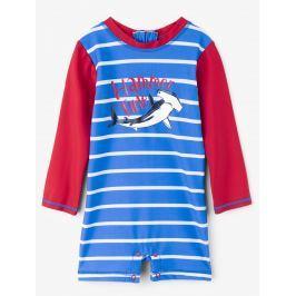 Hatley Chlapecký plavecký overal s kladivounem UV 50+ - modrý