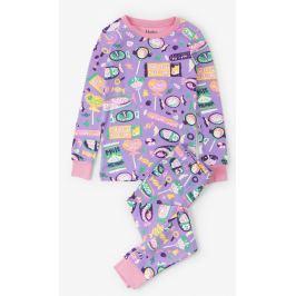 Hatley Dívčí pyžamo s lízátky - růžové