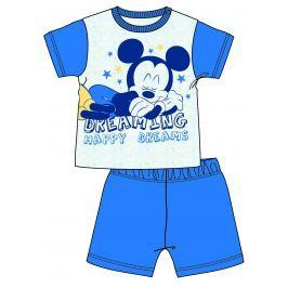 Disney by Arnetta Chlapecké pyžamo Mickey Mouse - modro-bílé