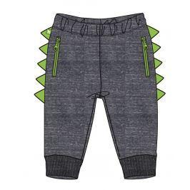 Mix 'n Match Chlapecké tepláky dinosaurus - tmavě šedé
