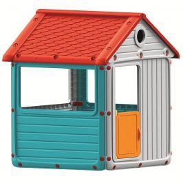 DOLU Dětský zahradní domeček, plastový, modrý