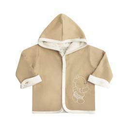 Nini Chlapecký kabátek s kapucí - béžový