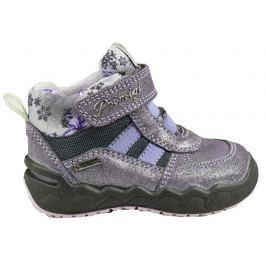 Primigi Dívčí zateplené boty - šedo-fialové