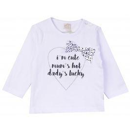 Venere Chlapecké tričko se srdíčkem - bílé