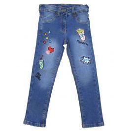 Carodel Dívčí kalhoty denim - modré