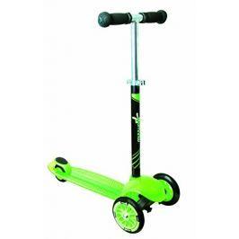 Authentic Sports Dětská tříkolka - zelená, průměr kol 120mm a 80mm