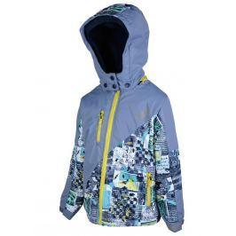 PIDILIDI Chlapecká lyžařská bunda - modrá