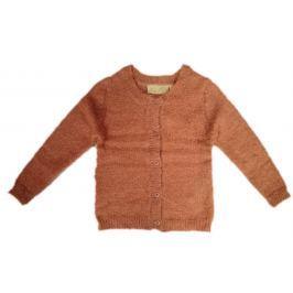 Carodel Dívčí propínací svetr - růžový