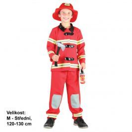 MaDe Dětský kostým - Hasič, 120 - 130 cm
