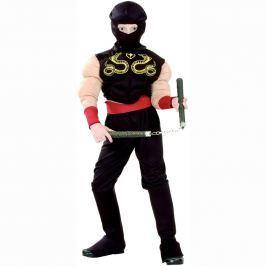 MaDe Dětský kostým - Ninja, 110 - 120 cm