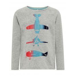 Name it Chlapecké tričko s letadly - šedé