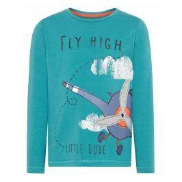 Name it Chlapecké tričko s letadlem - zelené