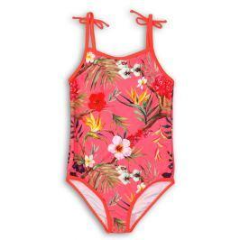 Minoti Dívčí plavky s květinami - barevné