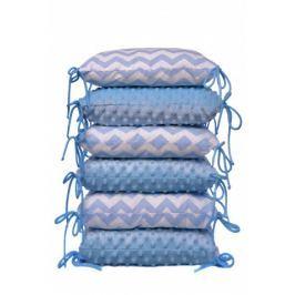 T-tomi Polštářkový mantinel, blue / zig-zag