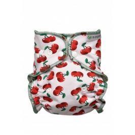 T-tomi Kalhotková plena - přebalovací set patentky, cherries