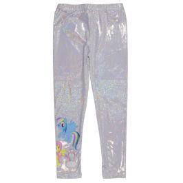 E plus M Dívčí holografické legíny My Little Pony - stříbrné
