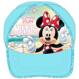 E plus M Dívčí kšiltovka Minnie - tyrkysová
