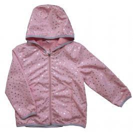 Carodel Dívčí bunda s hvězdičkami - růžová