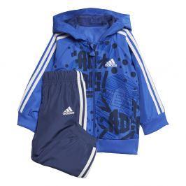 adidas Chlapecká tepláková souprava Favorites - modro-černá