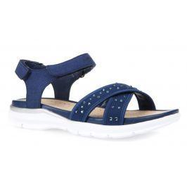 Geox Dívčí páskové sandály Sukie - modré