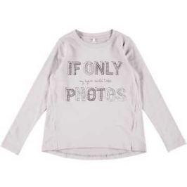 Name it Dívčí tričko s nápisem - bílé
