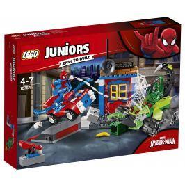 LEGO® Juniors 10754 Spider-Man vs. Scorpion - Souboj na silnici