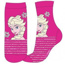E plus M Dívčí ponožky Frozen - růžové