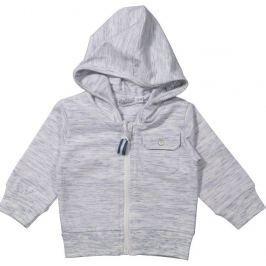 Dirkje Chlapecký kabátek s kapucí - šedý