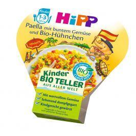 HiPP BIO Paella se zeleninou a kuřecím masem, 6x250g
