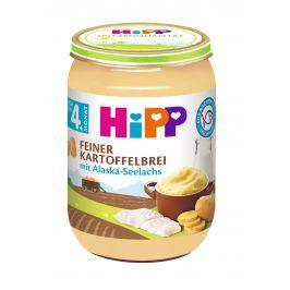 HiPP Jemná bramborová kaše s aljašskou treskou, 6x190g