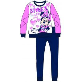 Disney by Arnetta Dívčí pyžamo Minnie - barevné