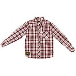 MMDadak Chlapecká košile Metropolitan - červená