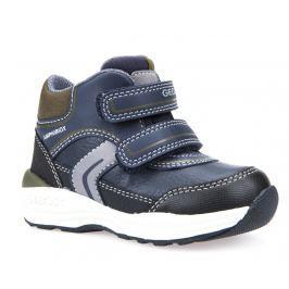 Geox Chlapecké zateplené boty New Gulp  - tmavě modré
