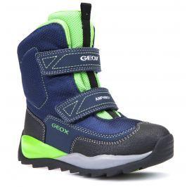 7b4376cbdc9 Detail zboží · Geox Chlapecké zimní boty Orizont - modro-zelené